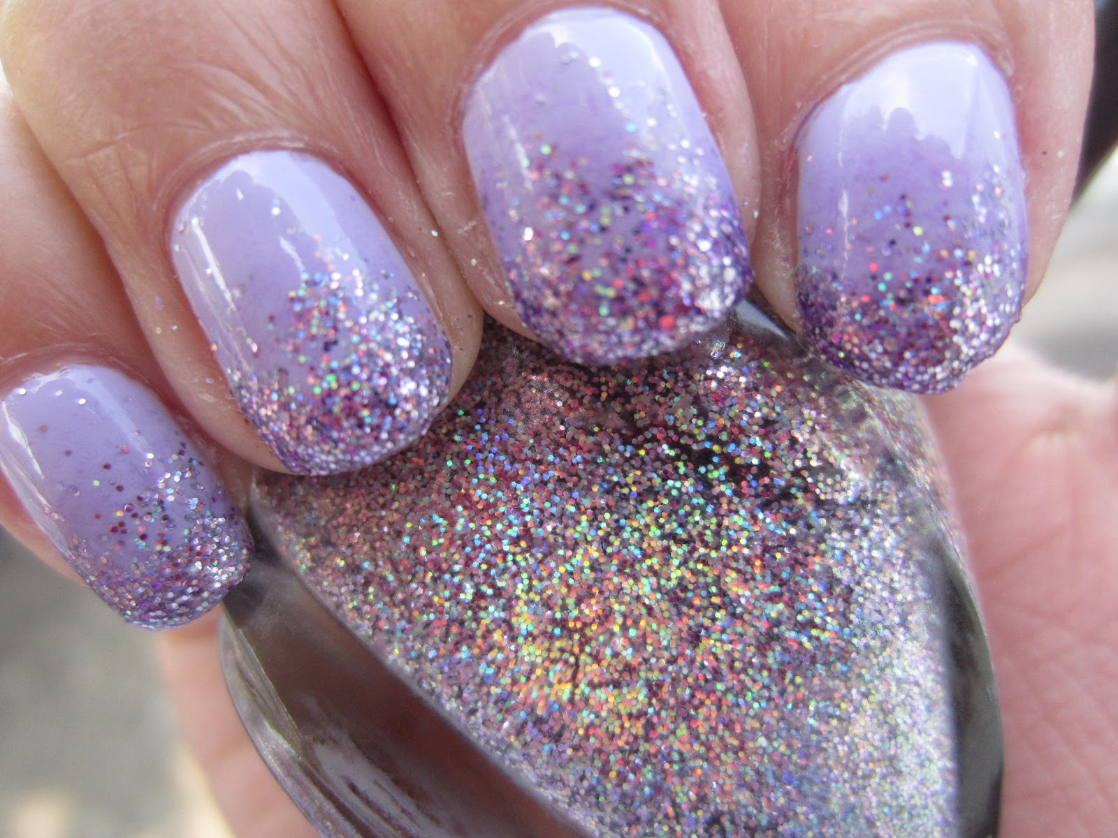 Lilac Acrylic Nail Designs HD Wallpaper