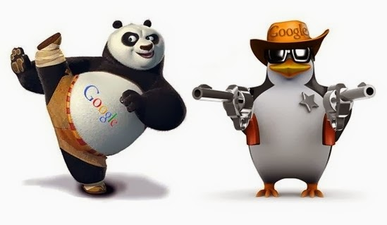 What are Google Panda and Google Penguine