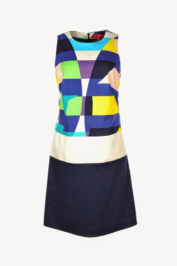 Πρωινο φορεμα με γεωμετρικο print