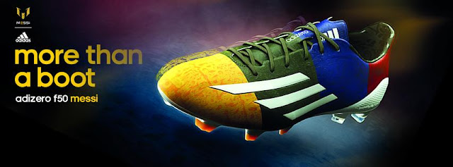 Footy News  ADIDAS F50 ADIZERO MESSI