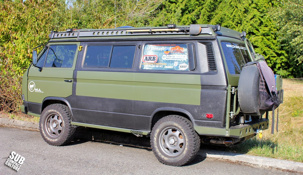 Mule Expedition Outfitter's VW Syncro