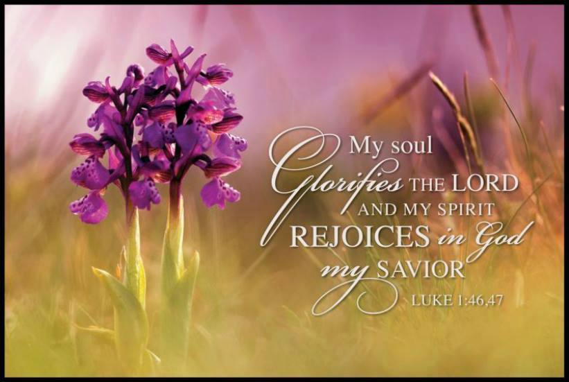 My soul Glorifies the Lord