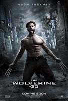 THE WOLVERINE New Poster Hugh Jackman