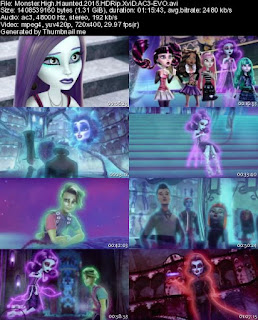 monster high hounted 2015