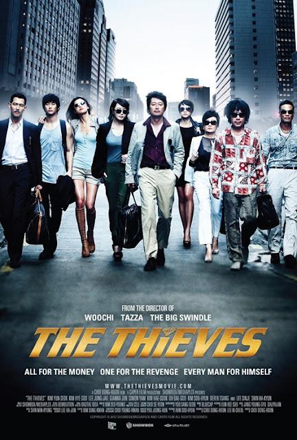 The Thieves (2012) 720p DVDRip 900Mb Mkv