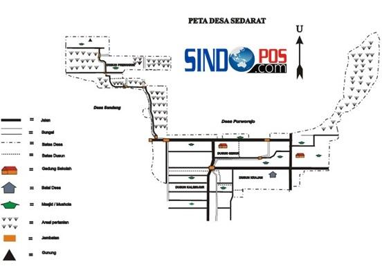 Profil Desa & Kelurahan, Desa Sedarat Kecamatan Balong Kabupaten Ponorogo