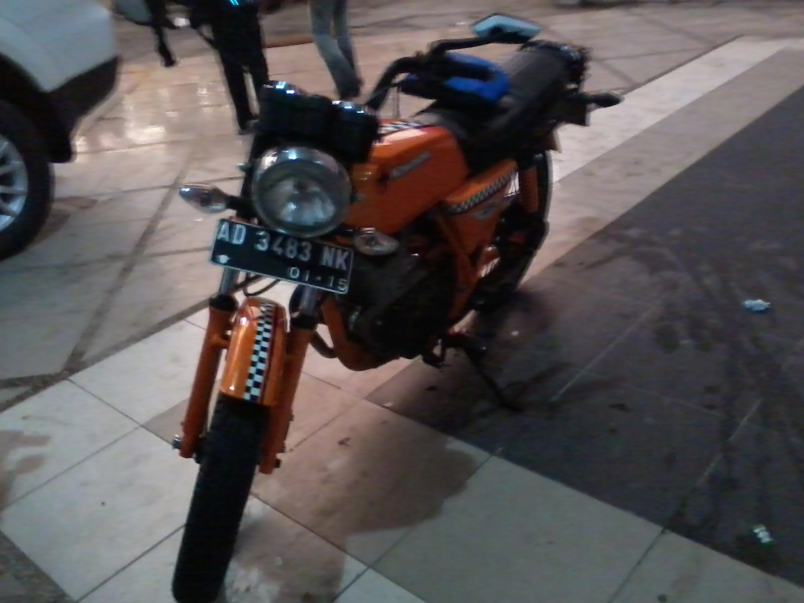 BINTER KAWASAKI MOTORS ORANGE RARE
