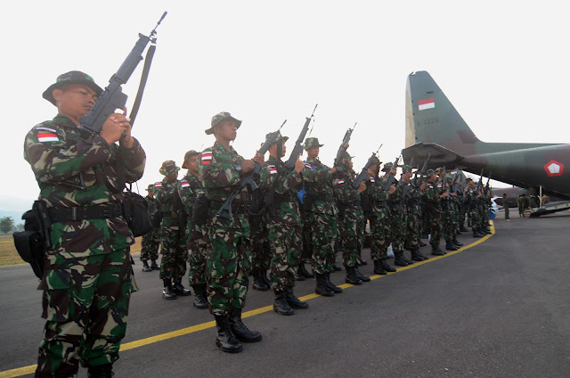 Kodam papua barat akan di isi 5000 personil TNI AD