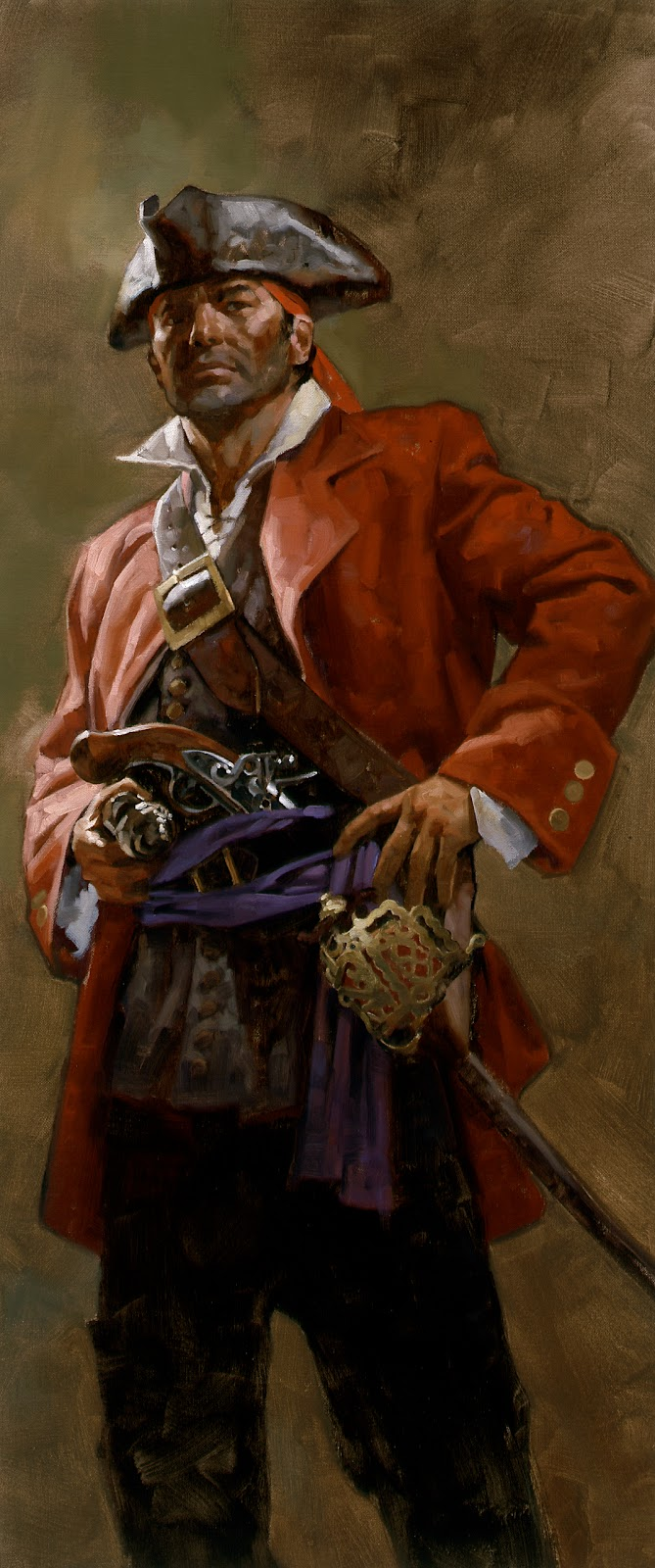 Muddy Colors: Pirate Paintings for National Geographic