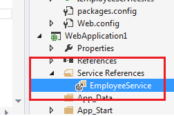 SERVICE REFERENCE IN ECF
