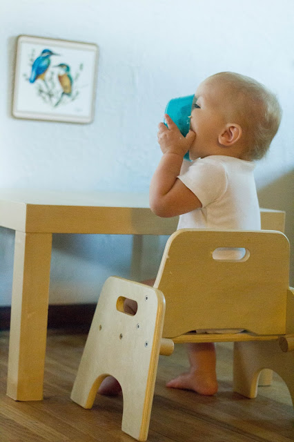 weaning table. montessori baby, montessori toddler