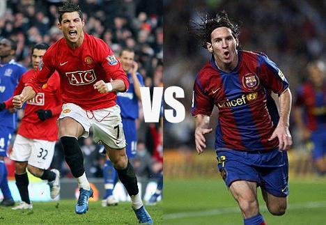messi vs ronaldo wallpaper. Messi vs Ronaldo. amac4me
