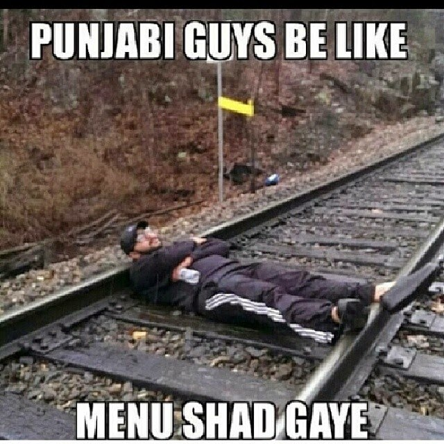 Punjabi Guys be Like - Menu Shad Gaye - Punjabi Troll - Desi Unit