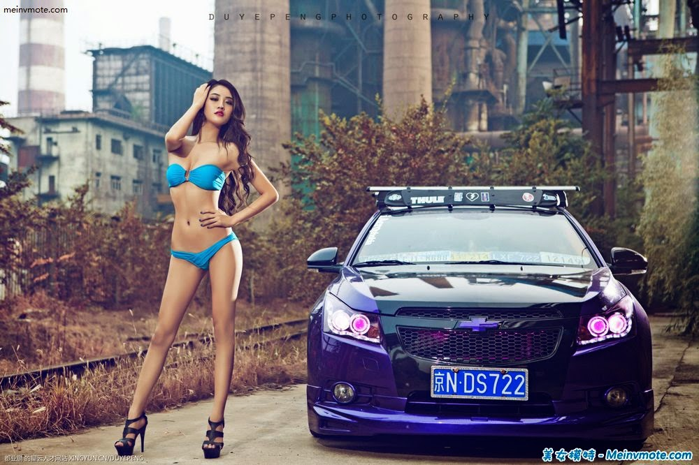 Extreme Erotic beautiful car models debut