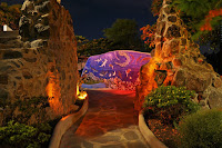 The Galapagos Eco-Lodge at Night