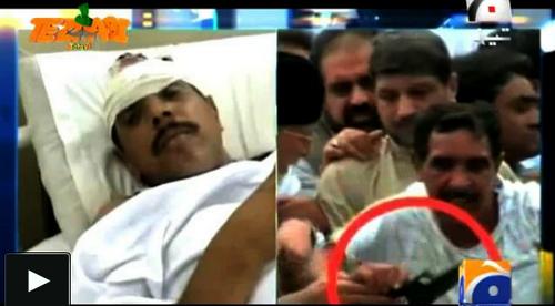 Tezaabi Totay Funny Arrested Man in Tahir-ul-Qadri Inklab March