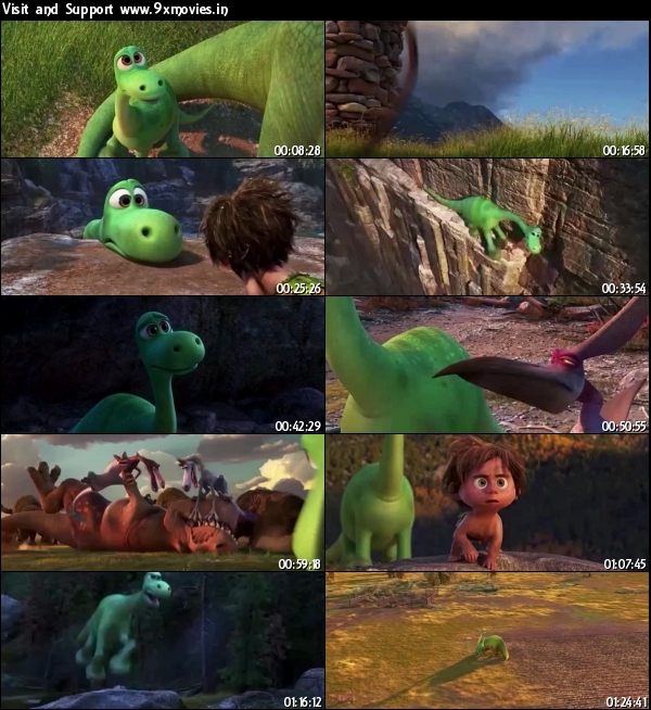 The Good Dinosaur 2015 English HDRip 500MB