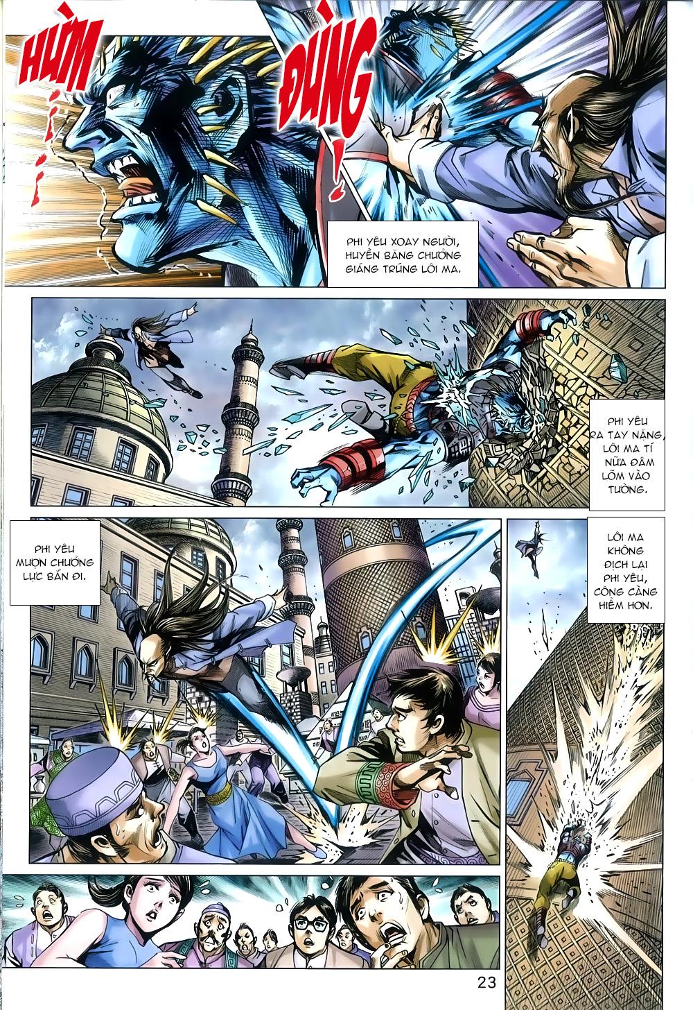 Tân Tác Long Hổ Môn chap 816 Trang 23 - Mangak.info