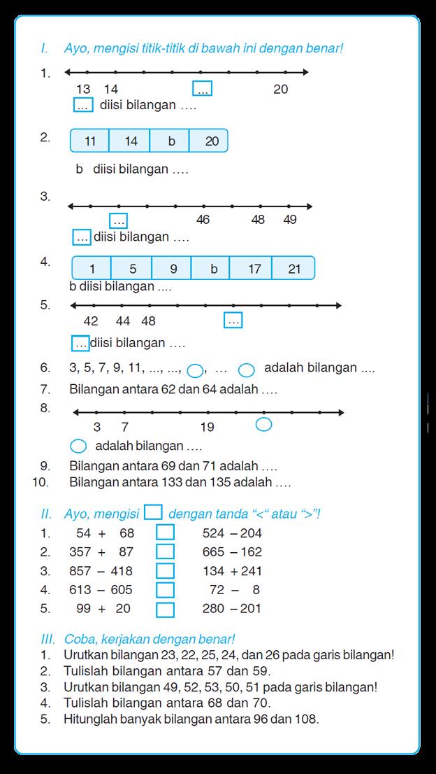 Kumpulan Soal Matematika Soal Ulangan Harian Matematika