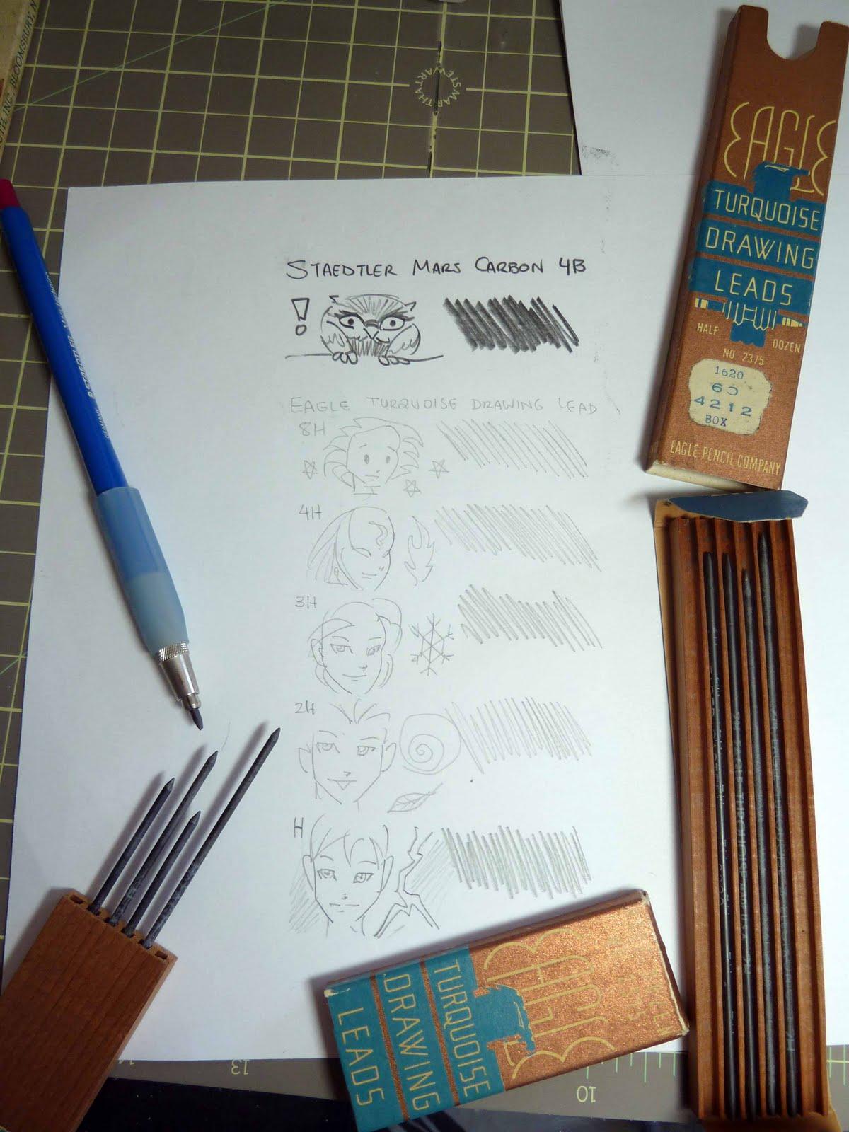 Turquoise Drawing Leads Dozen B