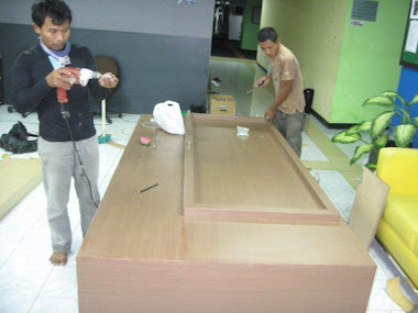 Meja conter gedung Ratu Prabu 2