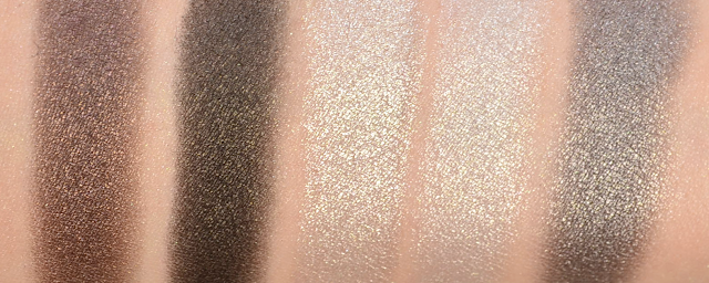 Manhattan Sparkling Nudes Eyeshadow Cool Nude Swatches
