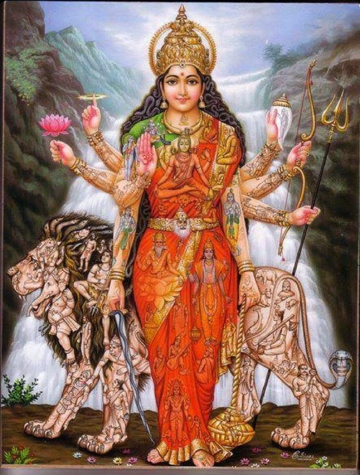 Image result for ओम अस्य श्री चण्डी कवचस्य