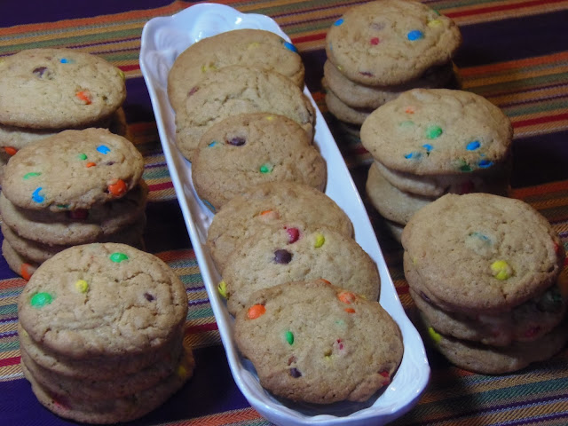 Mini M and M Candy Cookie Recipe