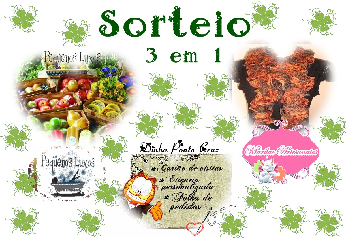 Acesse: http://dinhapontocruz.blogspot.com.br/2013/01/sorteio-3-em-1-dinhamarilac-e-pequenos.html