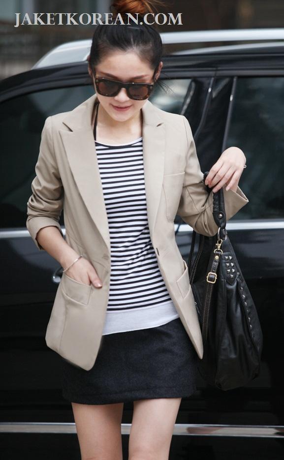 blazer wanita korea