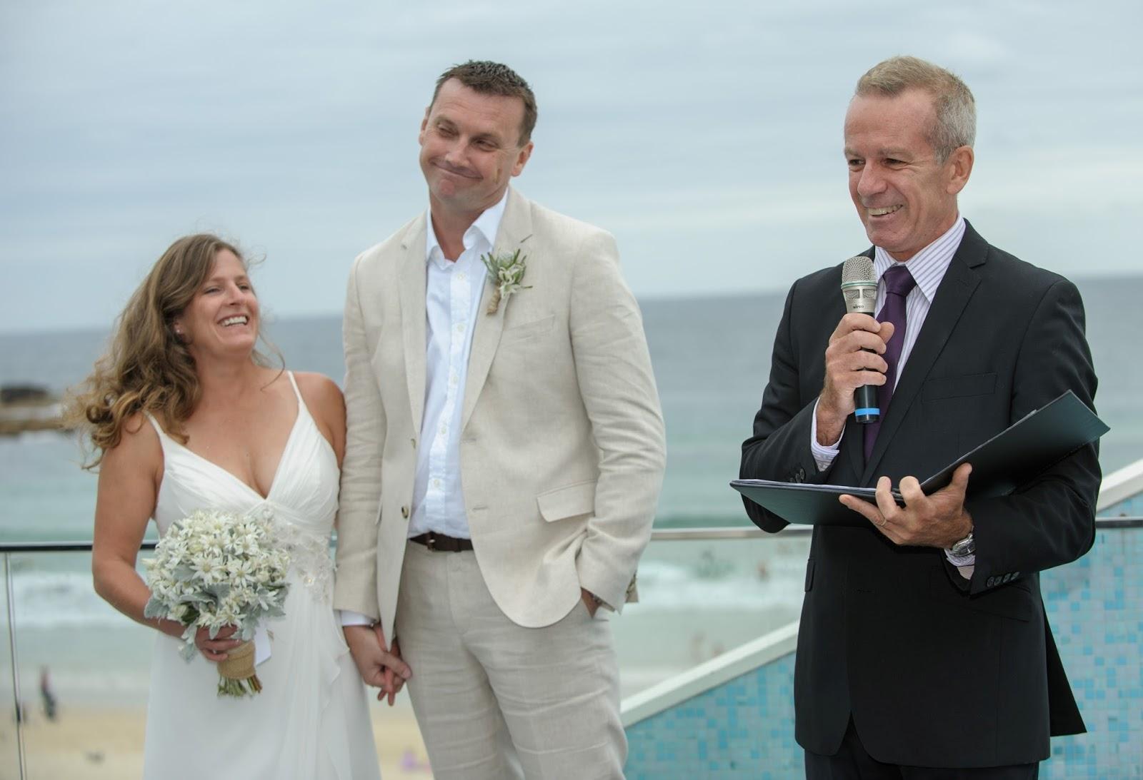 Gary Mooney Celebrant Blog: Bondi Beach Wedding Ceremony - Gary ...