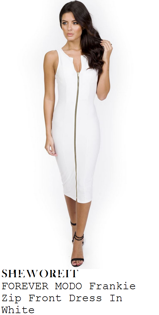 jessica-wright-white-sleeveless-zip-front-bodycon-midi-dress