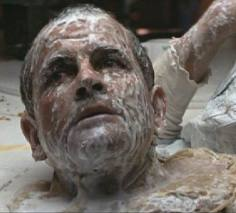 Ash's decapitated head in Alien