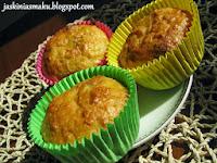 Marchewkowo- kokosowe muffiny