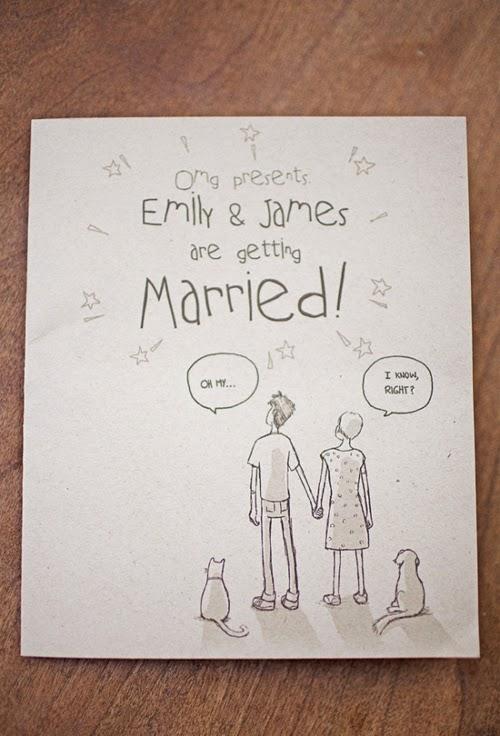 Thiệp cưới dạng Postcard lạ lẫm bắt mắt 13