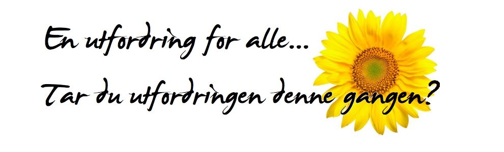Utfordring for alle.