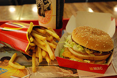 Fastfood by happymealy via Flickr and a Creative Commons license