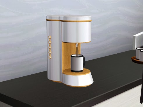My Sims 3 Blog New Coffee Maker By Tamamaro
