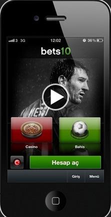 iPhone Mobil Bahis Uygulaması - Uygulama Görüntüleri İçin Tıklayı