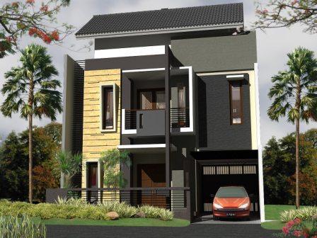 model rumah minimalis terbaru ada dua type kumpulan