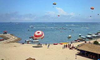 Foto-foto Serunya Menikmati Water Sports Di Pantai Tanjung Benoa, Buat Ingin Kembali.