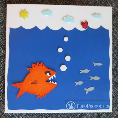 basic sea card for boy