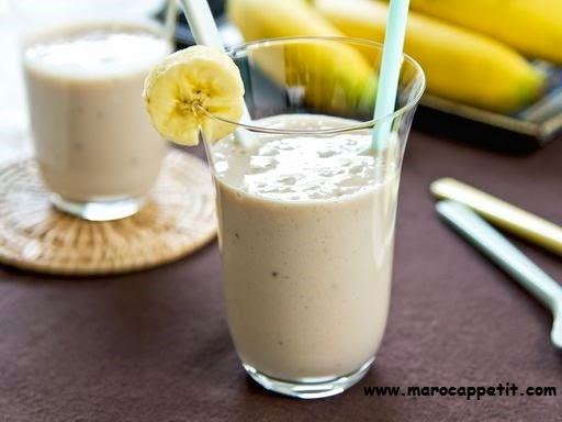 Milkshake banane   Banana milkshake