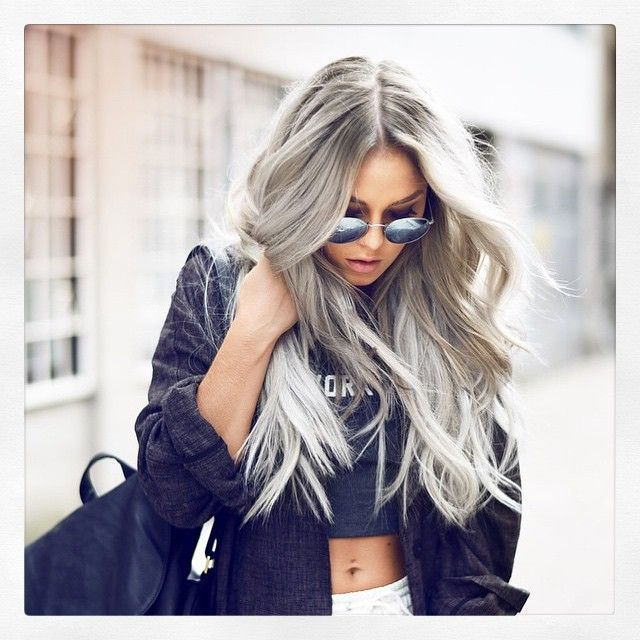 INSPIRATION | SILVER HAIR
