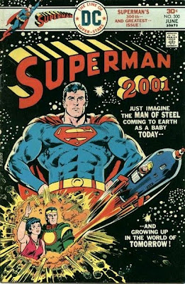 Cover of Superman #300 from DC Comics