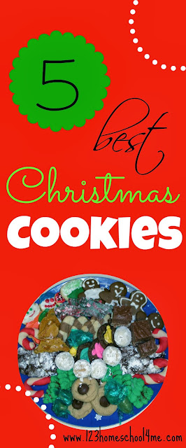 The Top 5 Christmas Cookie Recipes you won't want to miss #recipes #cookies #christmas