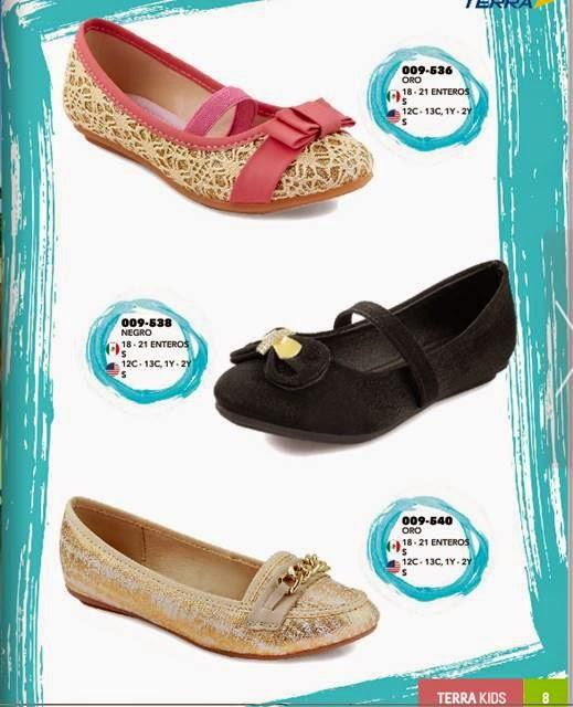 Zapatos para niñas Terra Kids PV15