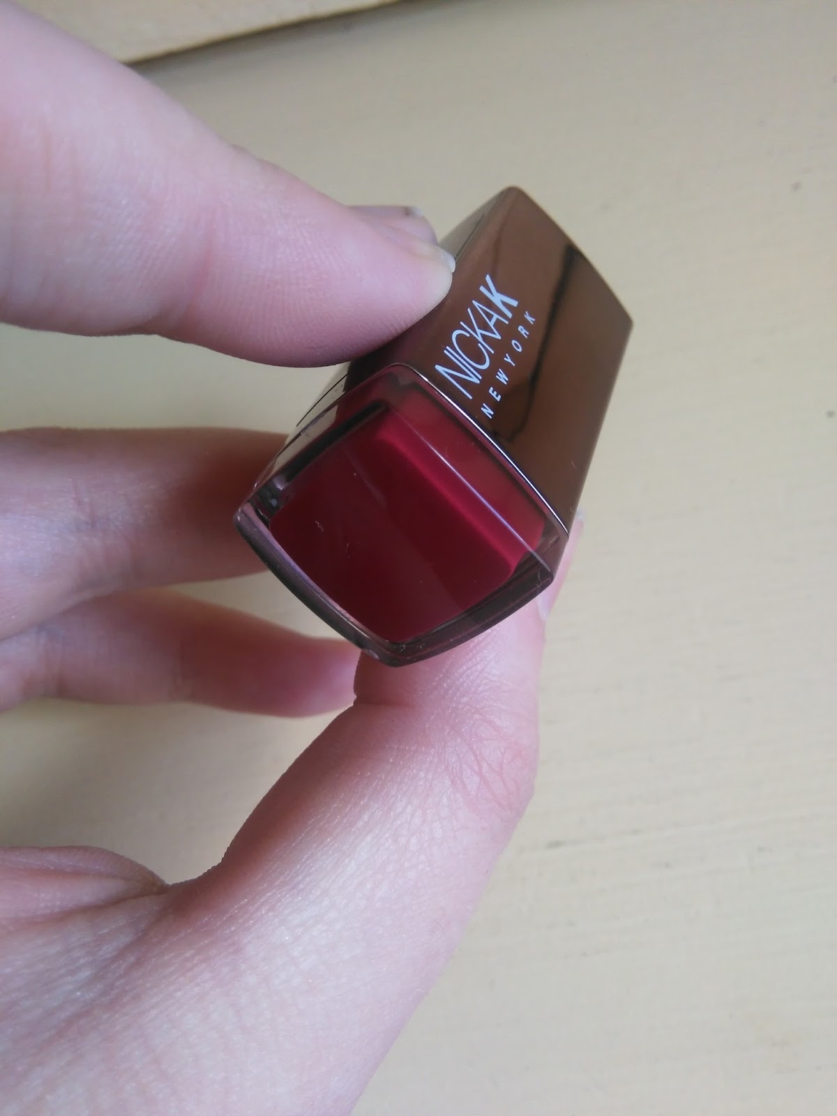 Beauty Crowd Review - Nicka K lipstick and Absolute Shimmer Eyeliner ...