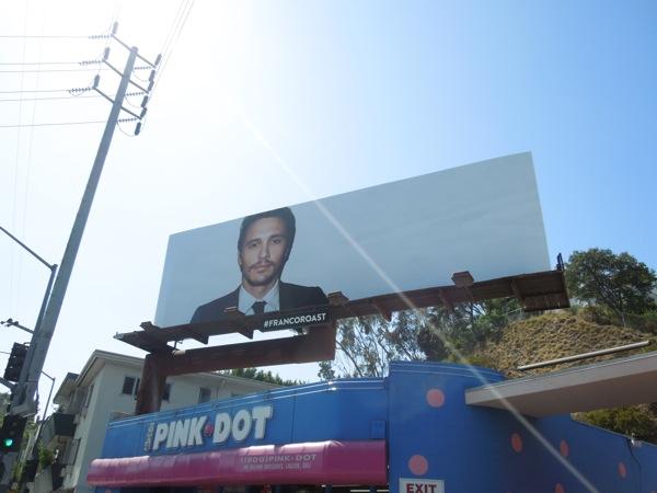 Franco Roast Comedy Central billboard Day 1
