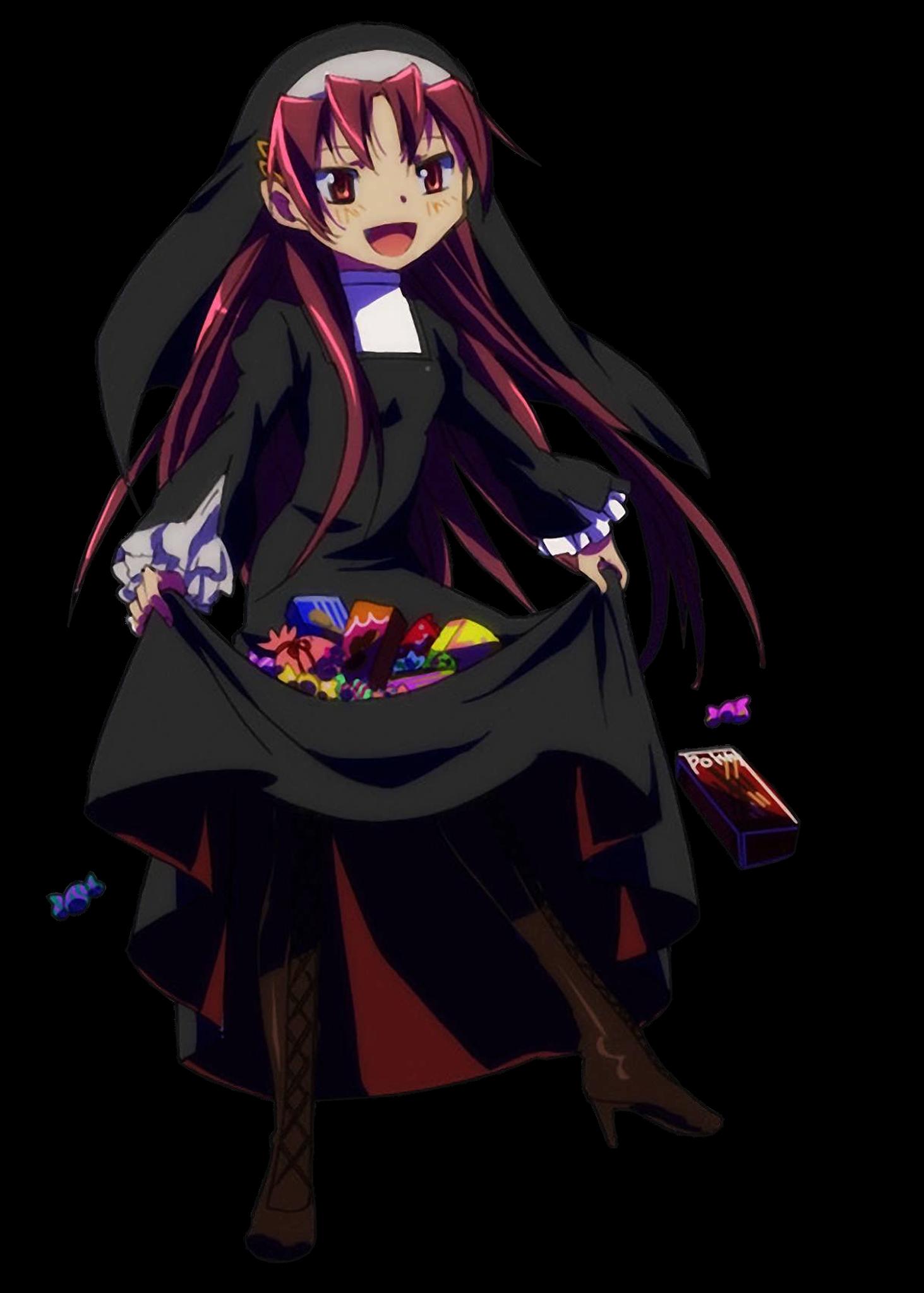Madoka Magica - Sakura Kyouko Halloween
